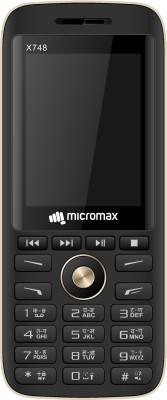 Micromax X748  (Black Gold)