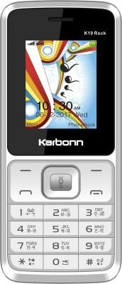 Karbonn K19 Rock(White&Grey)