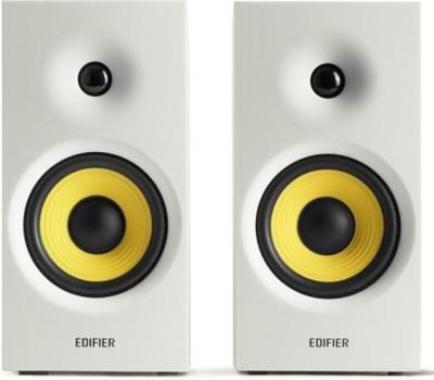 Edifier R1080BT 2.0 Bookshelf Speaker with Bluetooth 24 W Bluetooth Laptop/Desktop Speaker(White, Stereo Channel)