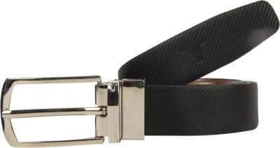 bulchee Men Formal Black, Brown Genuine Leather Reversible Belt