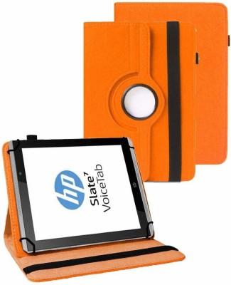 TGK Flip Cover for HP Slate 7 VoiceTab Tablet(Orange, Cases with Holder)