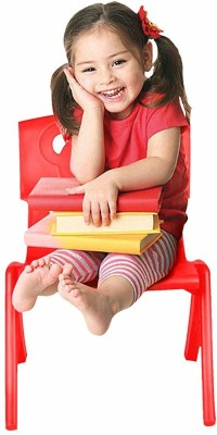 Sunbaby Plastic Chair(Finish Color - Red)