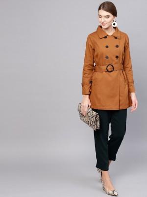 Street 9 Cotton Blend Solid Coat