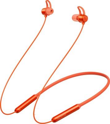 realme Buds Bluetooth Headset(Orange, Wireless in the ear)