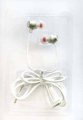 boAt 229 Wired Headset with Mic(White, In the Ear)