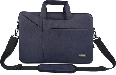 BROLAVIYA 15.6 inch Laptop Messenger Bag Blue BROLAVIYA Laptop Bags