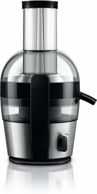 PHILIPS Juicer HR1863/20 700 Juicer (1 Jar, Black)