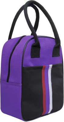 Aafeen Purple Office Use Waterproof Lunch Bag(Purple, 5 L)