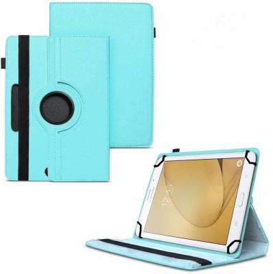 TGK Flip Cover for Samsung Galaxy Tab A 8 GB 7 inch with Wi-Fi+4G Tablet / Rotating Leather Stand Case(Blue, Cases with Holder)