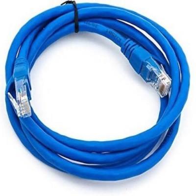 techut 1 Meter CAT 6 Ethernet Cable Lan Network CAT6 Internet Modem Blue RJ45 Patch Cord 1 m LAN Cable Compatible with internet, Blue techut Cables