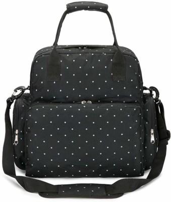 Futurekart Waterproof Large Diaper Bag, Baby Nappy Tote Bag Maternity Diaper Shoulder Bag Diaper Bags(Black)