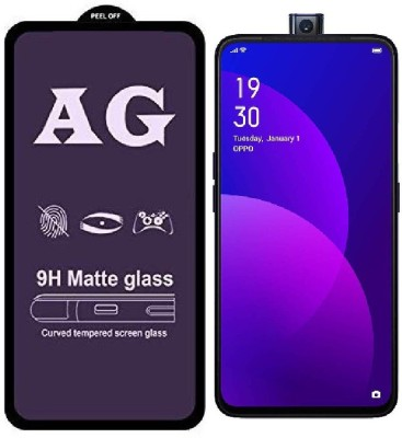 Snatchy Edge To Edge Tempered Glass for Oppo F11 Pro(Pack of 1)