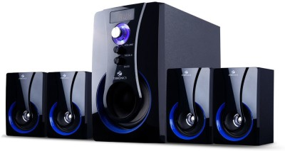 Zebronics 4.1 Multimedia SW3490 RUCF 60 Watt Home Theatre(Black, 4.1 Channel)