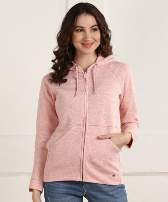 Allen Solly Full Sleeve Self Design Women Sweatshirt