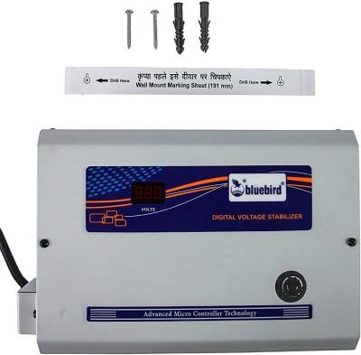 Blue Bird 5KVA 170 270V Economy Voltage Stabilizer Multicolour