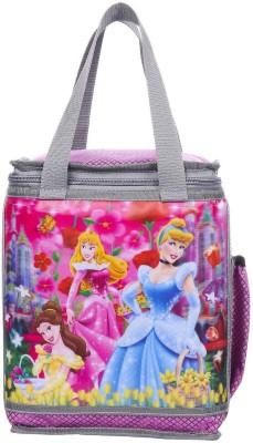 Fast look Super stylish tuff quality 3D printed school tiffen bag (pink) Waterproof Lunch Bag(Pink, 10 L)