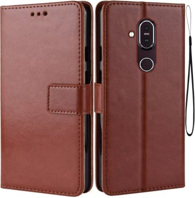 ACM Wallet Case Cover for Vivo Y17(Maroon, Cases with Holder)