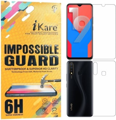 iKare Front and Back Screen Guard for Vivo Y19(Pack of 2)