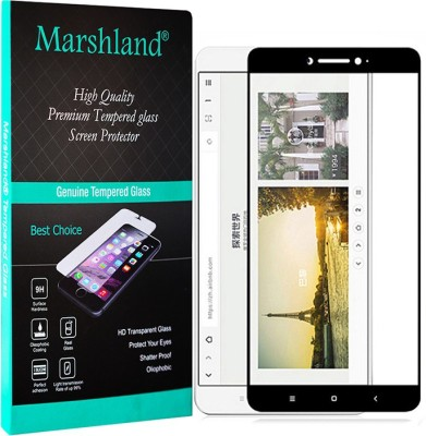 Marshland Tempered Glass Guard for Mi Max 2, 5D 9H Oil-Repel Coating, Anti-Shatter, Anti-Explosion, Bubble-Free Edge to Edge Tempered(Pack of 1)