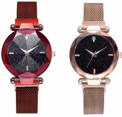 feston every colored magnet Combo watch -For Girls FR_55 Analog Watch  - For Girls