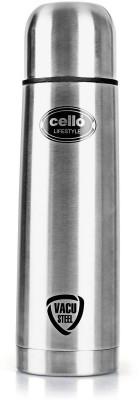 cello Lifestyle 500 ml Flask(Pack of 1, Silver, Steel)