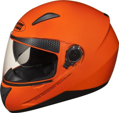 Studds Shifter Motorbike Helmet(Glossy Orange)