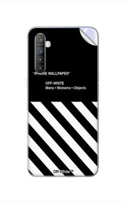 GADGETSWRAP GWAC-466 Printed Black Off White Wallpaper Realme XT Mobile Skin(Multicolor)
