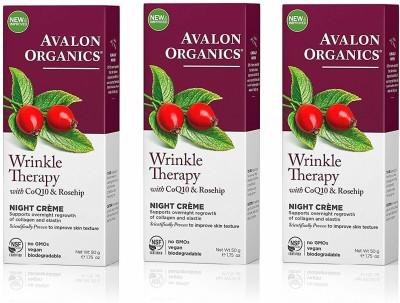 Avalon Organics Wrinkle Defense Night Creme(50 g)