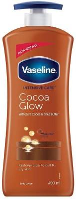 Vaseline Intensive Care Cocoa Glow Body Lotion 400ml(400 ml)