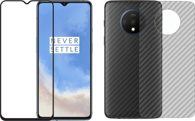 Karpine Front and Back Screen Guard for OnePlus 7T(Pack of 2)