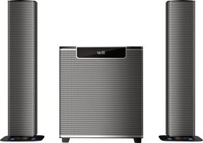 Philips MMS2220B/94 120 W Bluetooth Home Theatre(Black, 2.1 Channel)