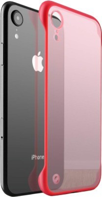 JPACC Back Cover for Apple iPhone XR(Transparent, Red, Shock Proof)