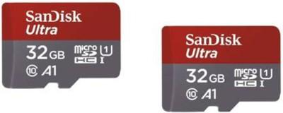 SanDisk ULTRA 32  GB MicroSD Card Class 10 98 MB/s Memory Card