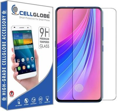 cellglobe Edge To Edge Tempered Glass for Vivo V15 Pro(Pack of 1)