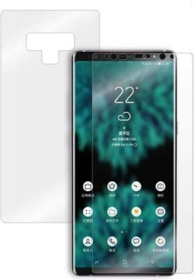 Zootkart Front and Back Screen Guard for Samsung Galaxy Note 9(Pack of 2)