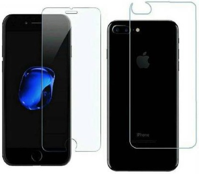 FIRST IMPRESSION Front and Back Tempered Glass for Apple iPhone 7 Plus(Pack of 2)