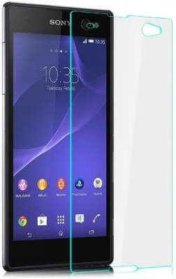 BIZBEEtech Tempered Glass Guard for Sony Xperia C3 Dual Sim D2533(Pack of 1)