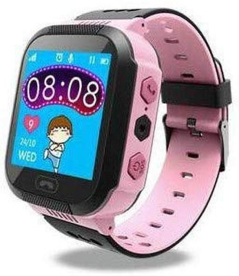trailo TrailO iSecureRely Smartwatch(Pink Strap freesize)