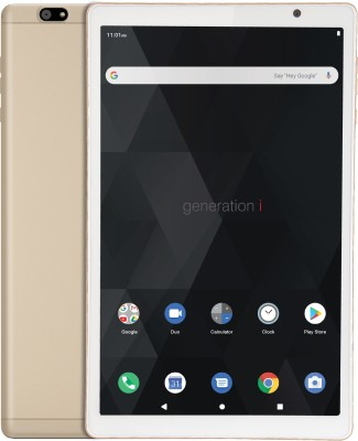 iBall iTAB BizniZ 32 GB 10.1 inch with Wi-Fi+4G Tablet (Champagne Gold)