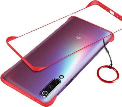 JPACC Back Cover for MI A3(Transparent, Red, Shock Proof)
