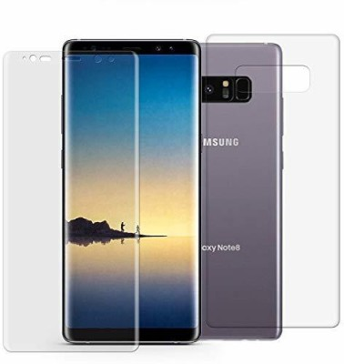Zootkart Front and Back Screen Guard for Samsung Galaxy Note 8(Pack of 2)