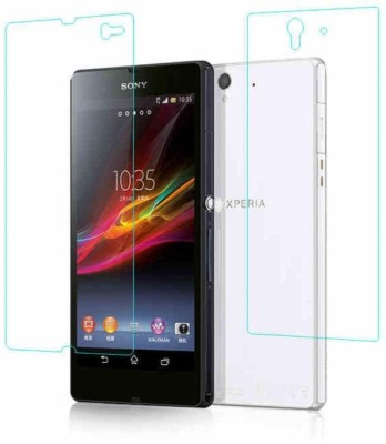 Zootkart Front and Back Screen Guard for Sony Xperia Z1(Pack of 2)