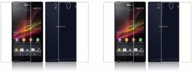 KIRARO Front and Back Screen Guard for Sony Xperia Z(Pack of 4)