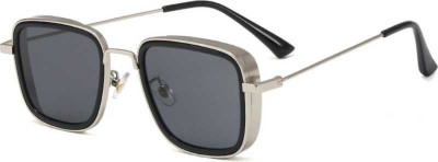 FERRET Rectangular Sunglasses(Black)