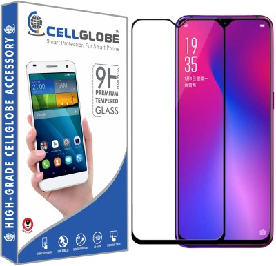 CELLGLOBE Edge To Edge Tempered Glass for OPPO F9 Pro(Pack of 1)
