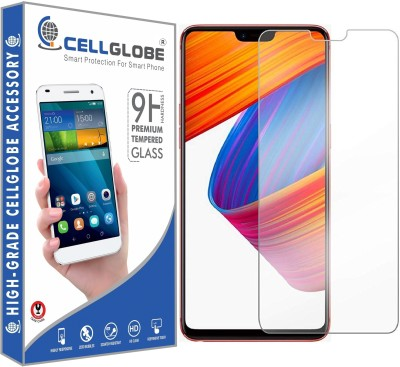 cellglobe Edge To Edge Tempered Glass for Oppo R15 Pro(Pack of 1)