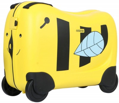 American Tourister FH0  0  06 001 Expandable Cabin Luggage   19 inch Yellow