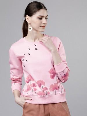 Tokyo Talkies Full Sleeve Printed Women Sweatshirt