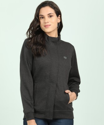 Breil By Fort Collins Full Sleeve Solid Women Sweatshirt