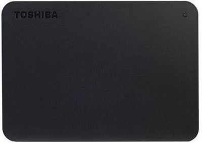 TOSHIBA Canvio Basics 1 TB External Hard Disk Drive(Black)